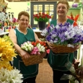 Sisters Barbara Rose and Julie Williams have launched Annie's Pride in Shrewsbury Market Hall