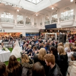 A Shropshire couple have tied the knot in front of crowds of Saturday shoppers in the middle of Telford Shopping Centre this afternoon
