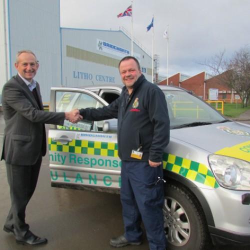 Bridgnorth Aluminium helps local lifesavers