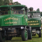 Two Sentinel Steam wagons made in Shrewsbury