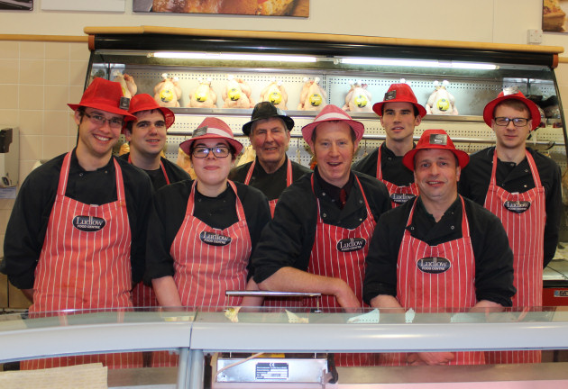 Ludlow Food Centre Butchery Team