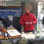 Award winning Lancashire Cheese producer Sean Wilson