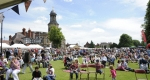 Crowds of visitors enjoyed the 2014 Shrewsbury Food Festival