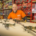 Simon Miles has one of the UK's largest collections of Airfix models
