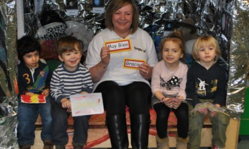Telford nursery embraces foreign languages