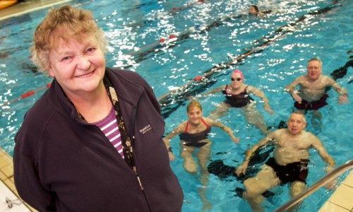 Free swimming for 50 and overs in Telford and Wrekin