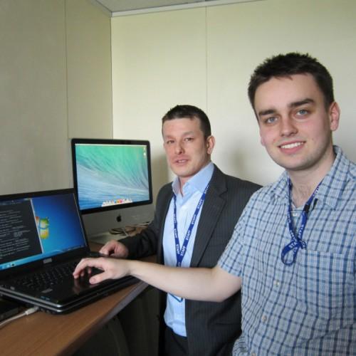 Apprentice begins IT career at north Shropshire school