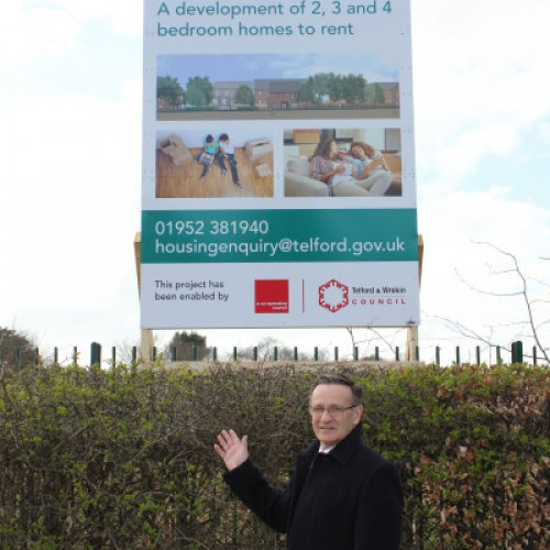Building work begins on Telford & Wrekin housing investment programme