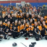 Telford Tigers celebrate their first league title in 27 years