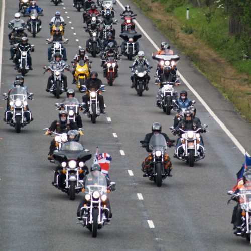 3,000 motorcyclists set for Bike4Life Ride Out today