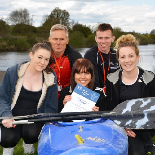 £10,000 funding secured to increase watersports at Shrewsbury College