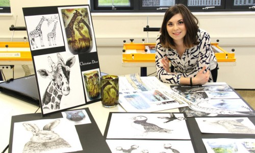 From Telford College to designer chic in Paris