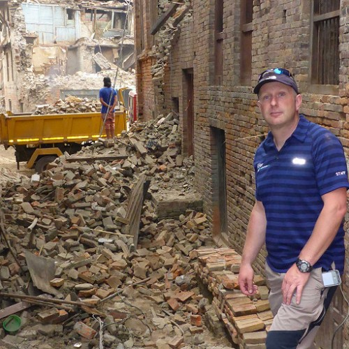 Shropshire man gives first-hand account of the devastation in Nepal