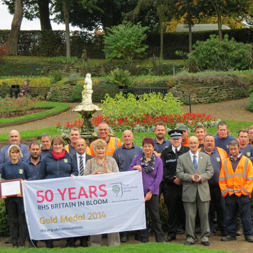 Members of Shrewsbury in Bloom call for return of missing flag