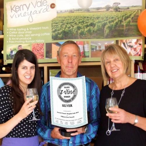 Shropshire Vineyard picks up Silver Award in International Wine Competition