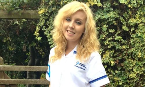 Leanne battles adversity to achieve her midwifery dream