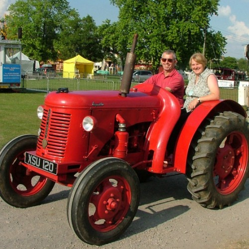 A host of family firsts at the 28th Shropshire Vintage Show