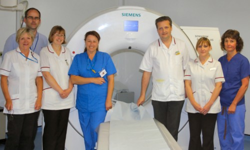 Royal Shrewsbury Hospital switches on first new CT Scanner