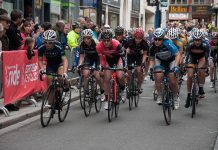 Cyclists take part in the Shrewsbury Cycle Grand Prix. Photo: Steven Oliver