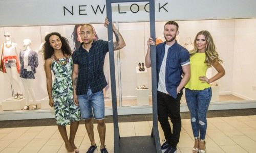 Models bring fashion X factor to Shrewsbury