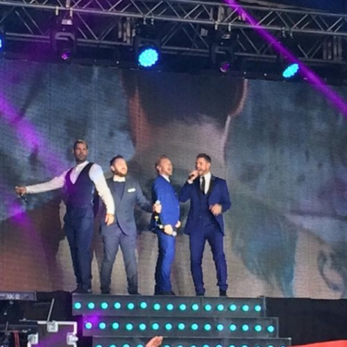 Telford Boyzone concert pulls in 8,000 strong crowd