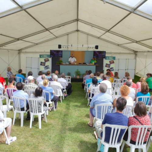 Packed line up of cooking demos for foodies at Cosford Food Festival
