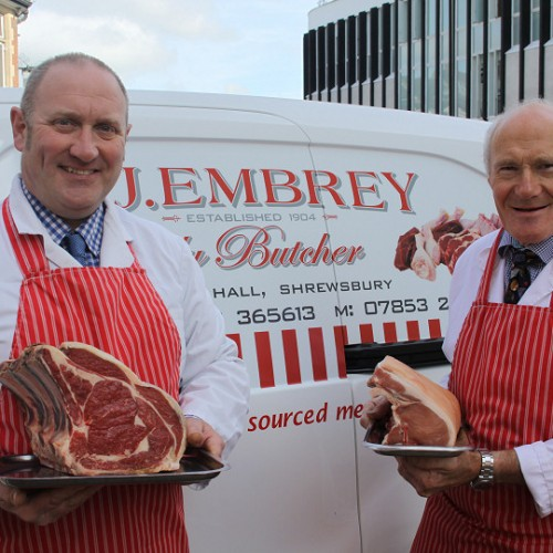 One of Shropshire's oldest butchers re-establishes its delivery service