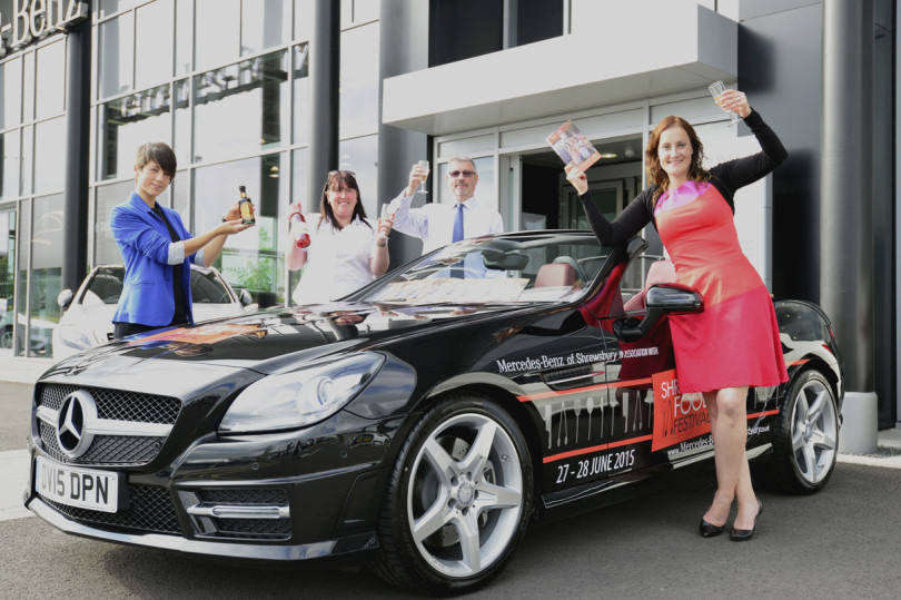Pictured At The Launch Are, From Left, Exhibitors Mia Facchin, Of Ludlowu0027s  La