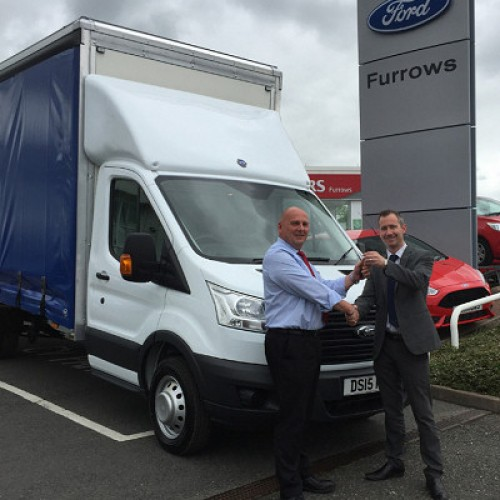 Bridgnorth firm takes delivery of specialist vehicle