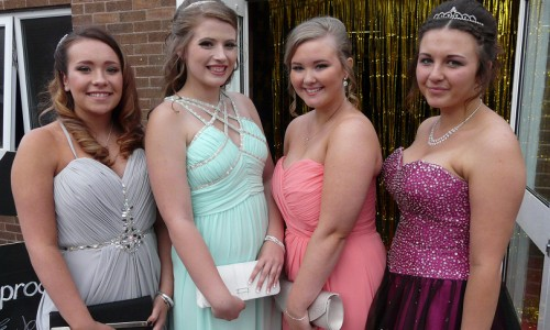 Hollywood comes to Shrewsbury for Grange Secondary School's prom night
