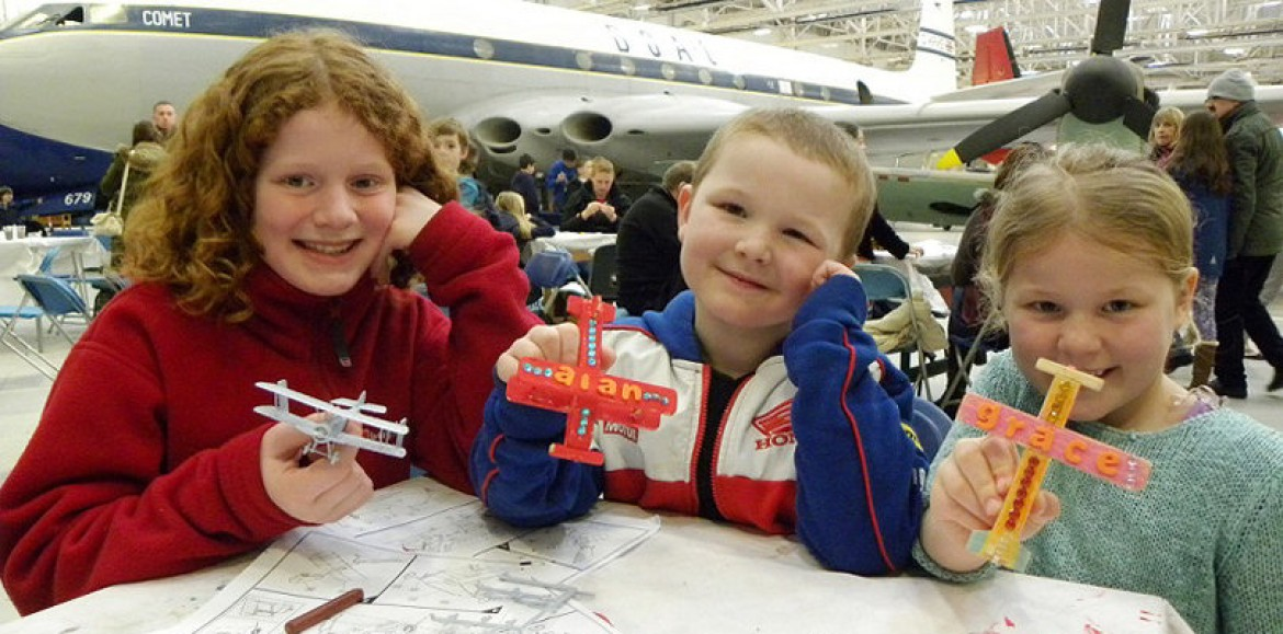 Up, up and away for family fun at Cosford this August