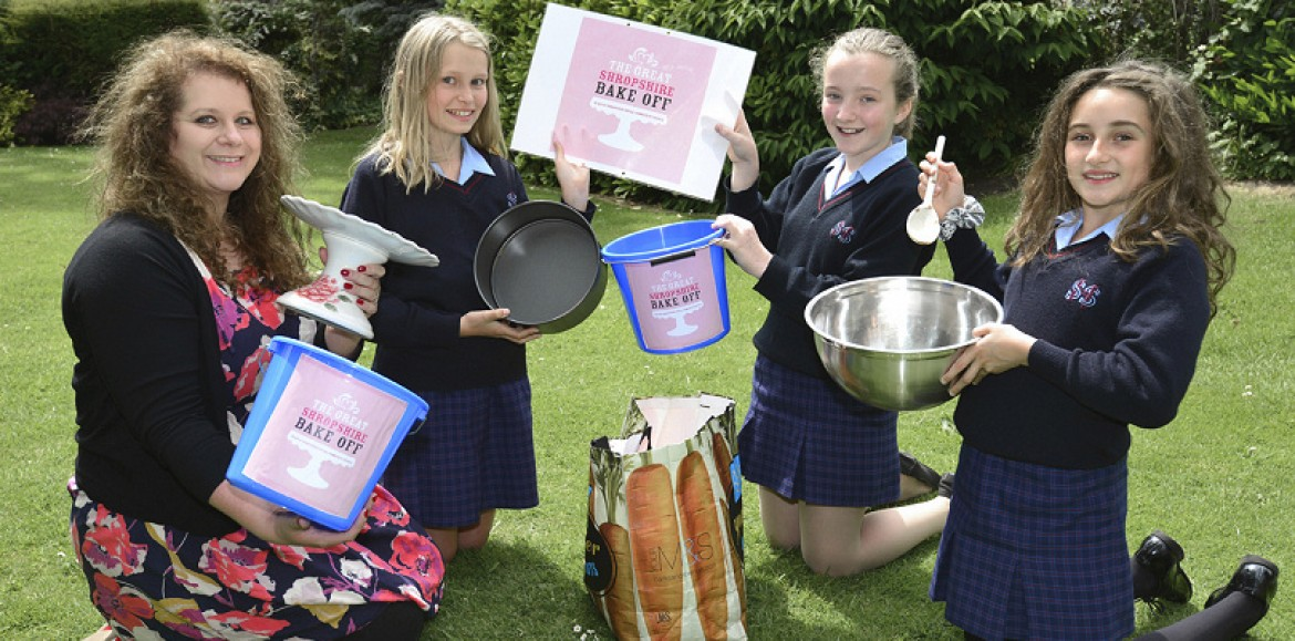 Back to school for Great Shropshire Bake Off