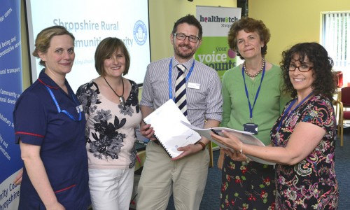 Shropshire eye care services report launched