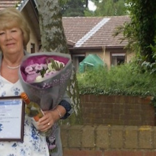 Coverage Care Assistant Manager wins carer's award