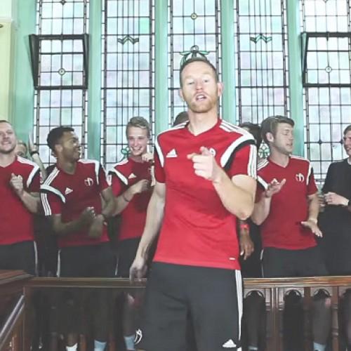 Shropshire sports coaching company produce fun charity video