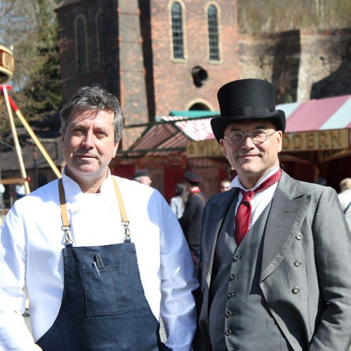 Celebrity MasterChef semi-final filmed at Blists Hill Victorian Town
