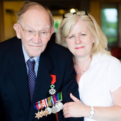 Shropshire World War Two veteran awarded French Legion d'Honneur