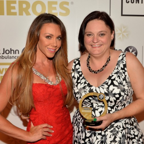Local hero receives Everyday Heroes Award for fundraising efforts