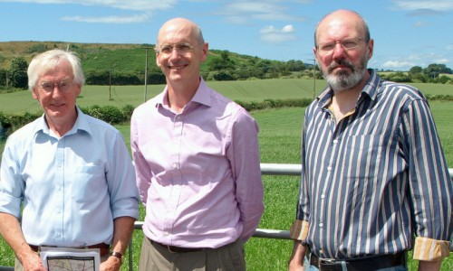 Leading light in countryside protection visits threatened Oswestry hillfort