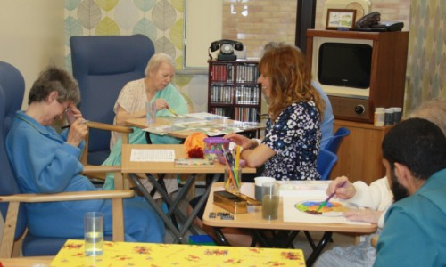 Patients get to try new Retro Room at PRH