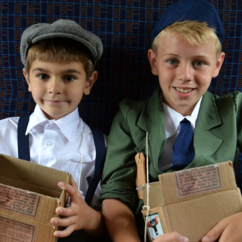 Turning the clocks back in celebratory style at the SVR's 1940s weekends