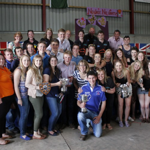Shropshire Young Farmers' showcase their talents once again