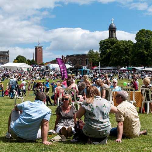 Third Shrewsbury Food Festival pulls in thousands of visitors