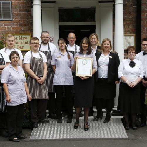 Shropshire hotel enters TripAdvisor's 'Hall of Fame'