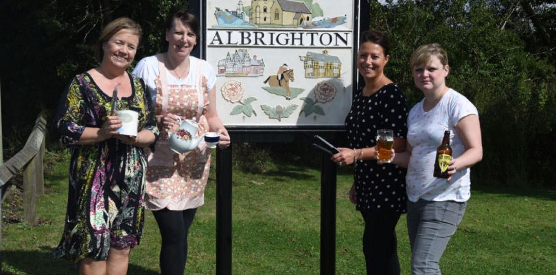 Super Saturday as Albrighton retailers urge people to buy 'local'