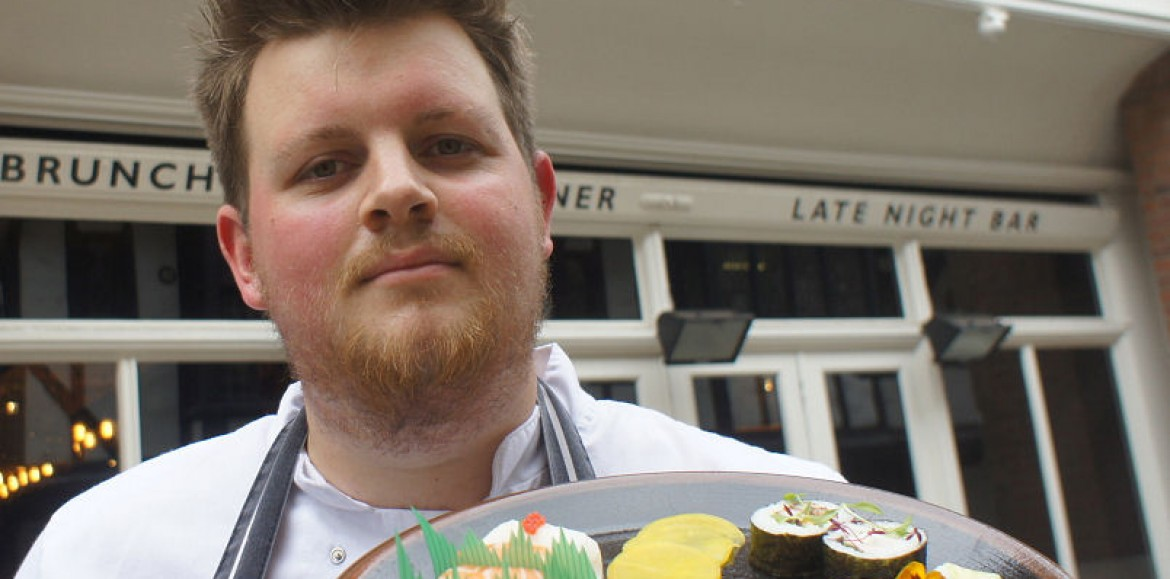 Shropshire chef Sam to compete in Global Sushi Challenge