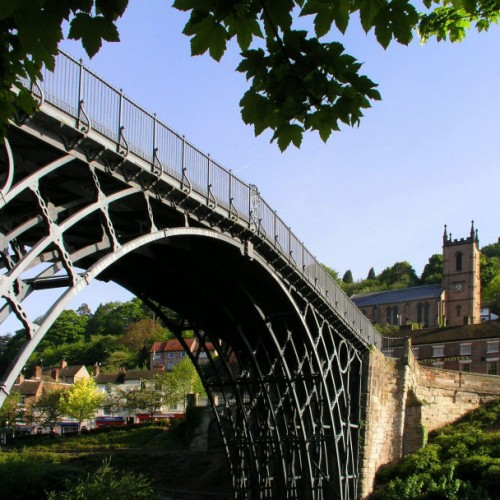 Artist to 'disguise' the Iron Bridge in rags
