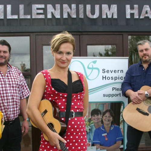 The Severn Ukes and thE iNnocEnts come together for charity concert