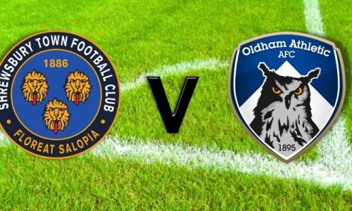 Match Report: Shrewsbury 2 – 0 Oldham