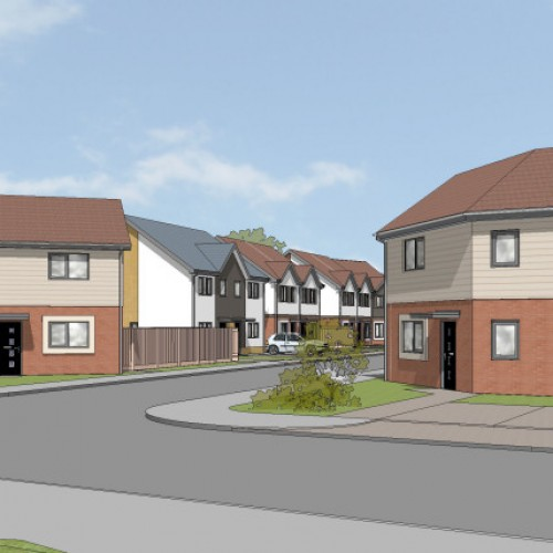 Plans submitted for over 50 new affordable homes in Oswestry